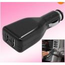 USB автомобільний зарядний пристрій (подвійний)