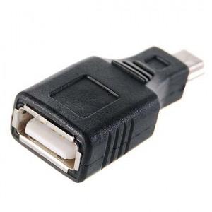 USB (F) перехідник на mini USB (M)
