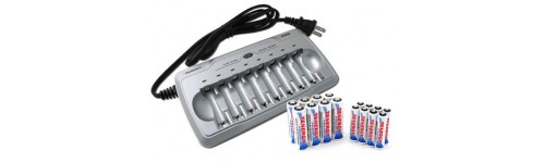 Акумулятори, зарядні пристрої