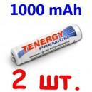 Аккумуляторы ААA Tenergy 1000