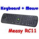 Бездротова клавіатура Measy RC11(гіроскопічна)