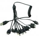 Зарядка USB универсальная 10 в 1